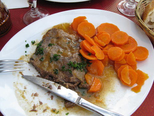 Boeuf á la mode carotte