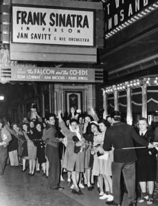 Frank Sinatra ja fanit
